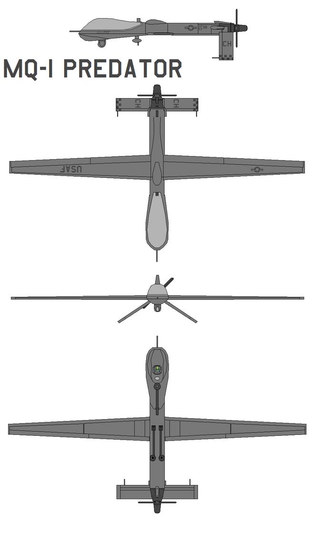 MQ-1 Predator by bagera3005