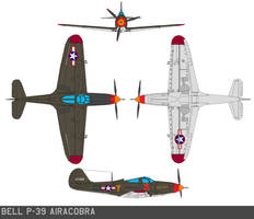 Bell P-39 Airacobra by bagera3005