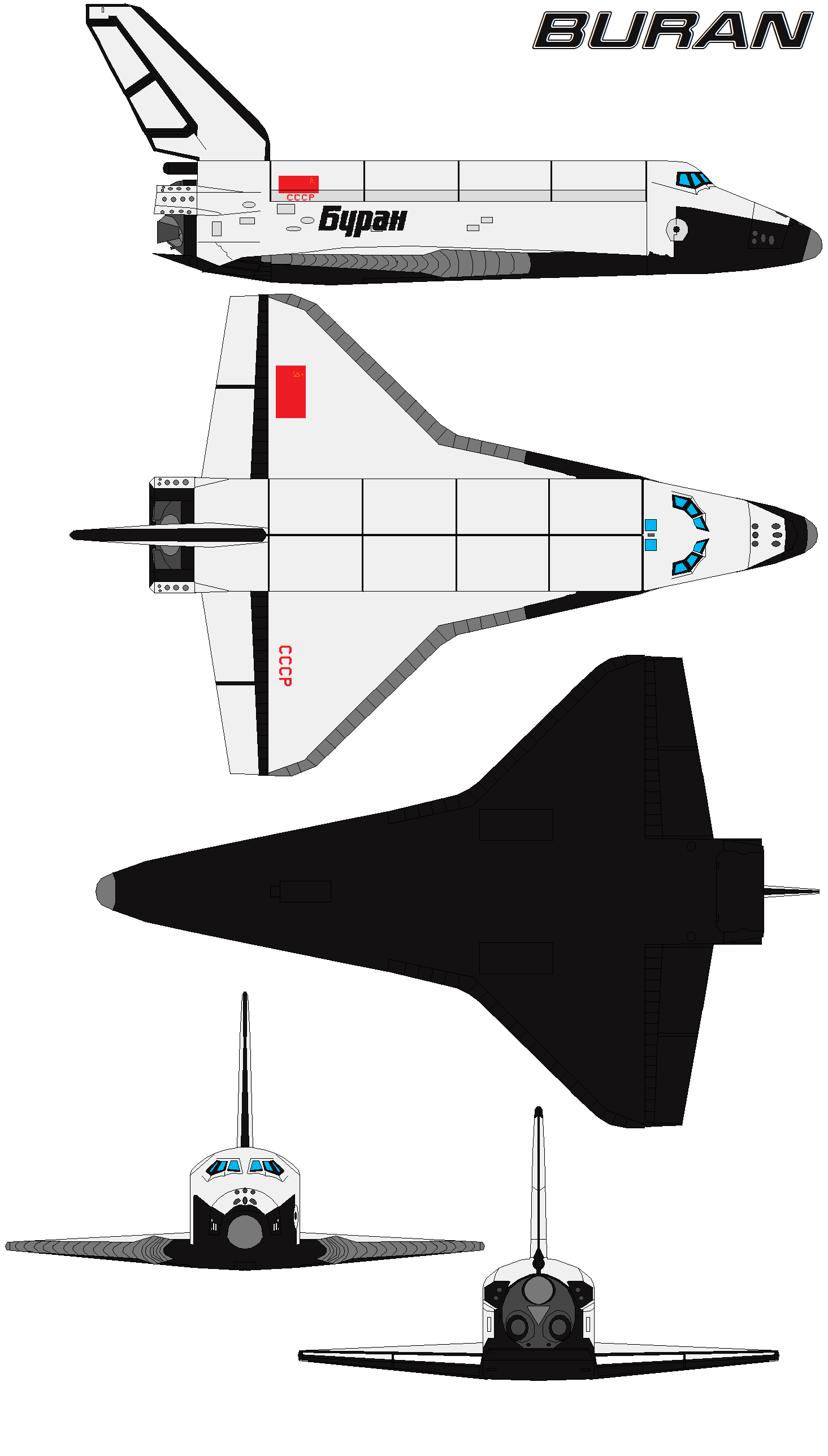 buran space shuttle compared to us - photo #22