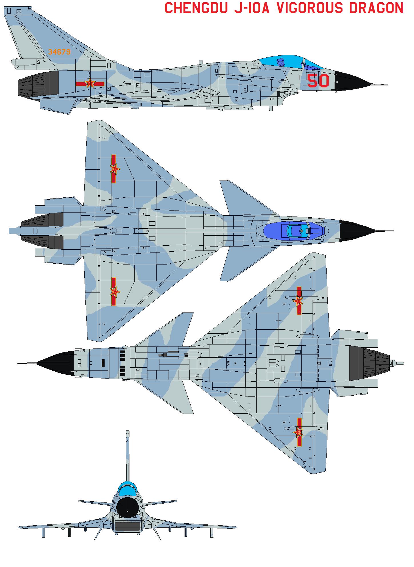 حصرياً للمنتدى-دراسة شاملة عن الرائعة الـصينية J-10 .......... - صفحة 5 Chengdu_J_10A_Vigorous_Dragon_by_bagera3005