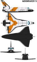 Space shuttle moonraker 5 by bagera3005