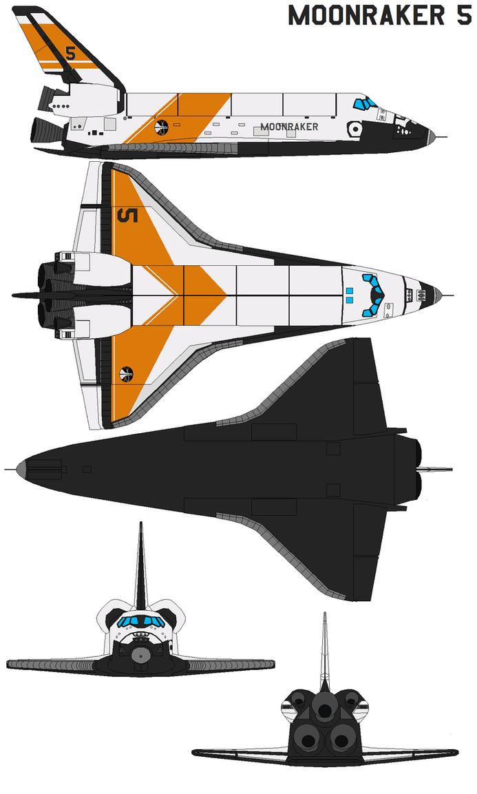 Space Shuttle Moonraker 5 By Bagera3005 On Deviantart