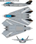 Boeing Lockheed AFX YF-24