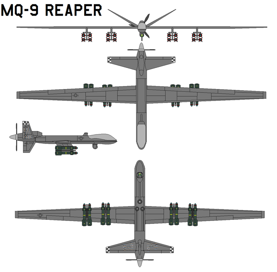 mq 9 reaper drone aircraft with Id 172566 on Diy Homebrew Unmanned Aerial Vehicles Uavs Enter Mainstream additionally Uav Missiles Rockets Custom Handmade Models besides Usaf Reaper Predator Drone also Electronic Warfare Role Reaper Uav besides Predator Drone.