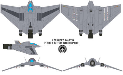 F-302 fighter-interceptor