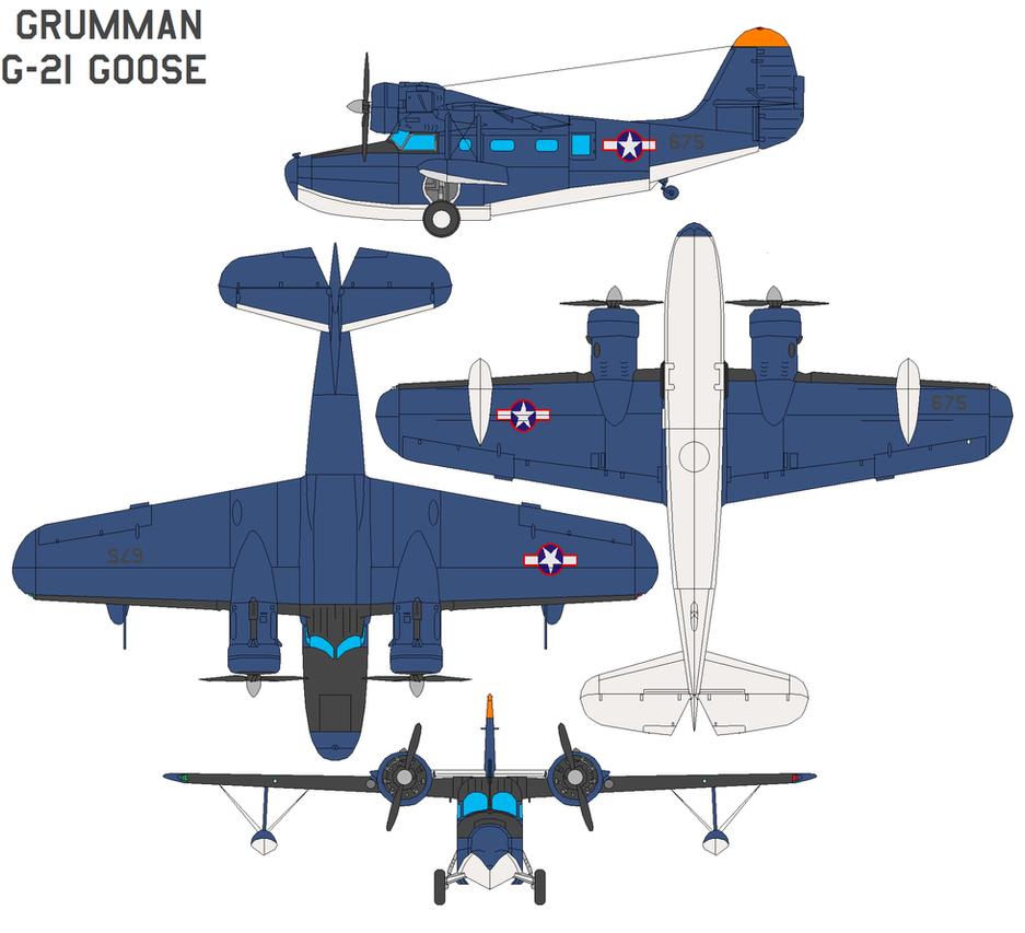 Grumman G-21 Goose by bagera3005