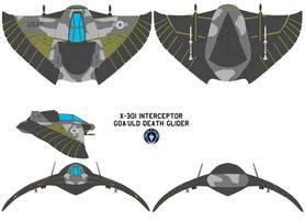 Goa uld Death Glider X-301 by bagera3005