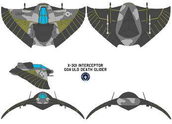 Goa uld Death Glider X-301