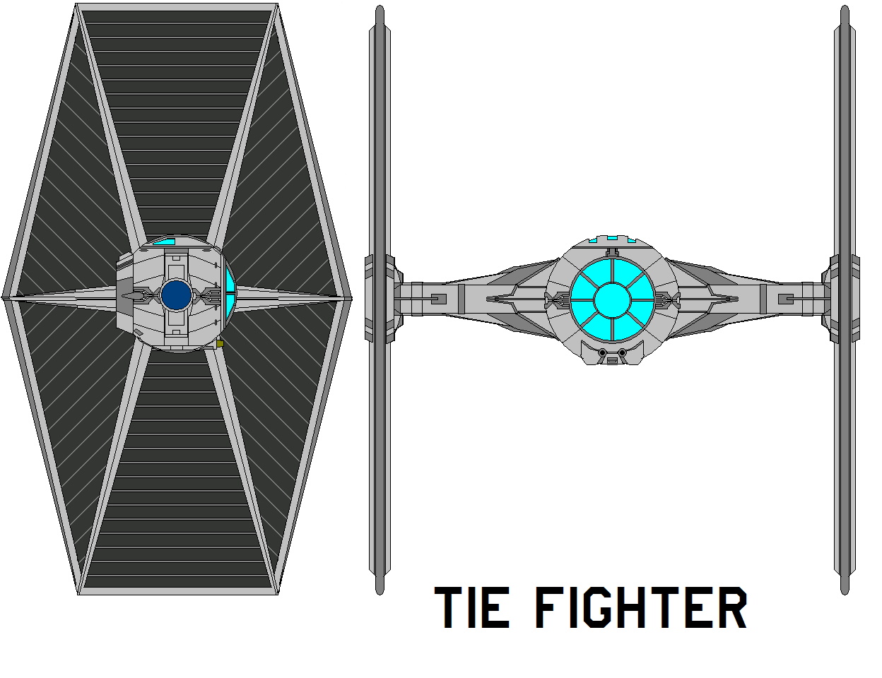tie fighter by bagera3005