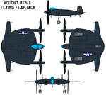 Vought XF5U Flying Flapjack