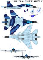 Sukhoi Su-35UB Flanker-E