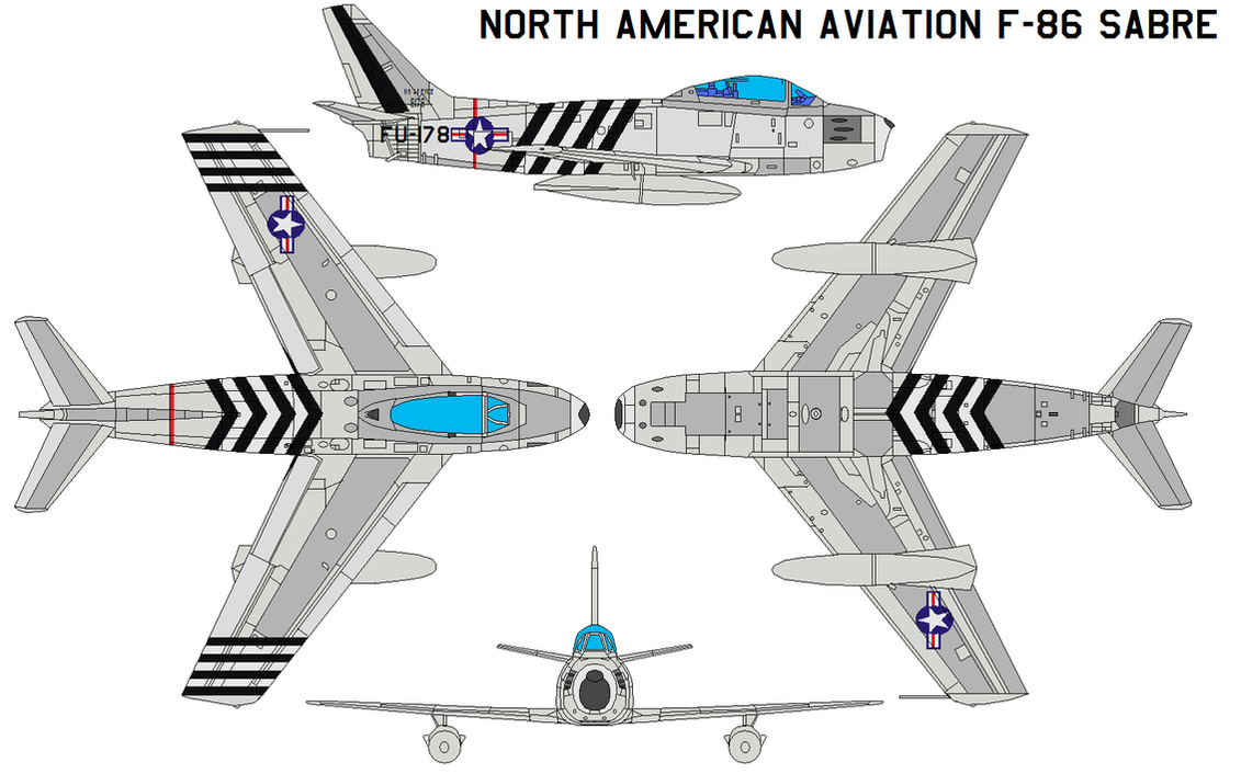 North American Aviation F 86 By Bagera3005 On Deviantart