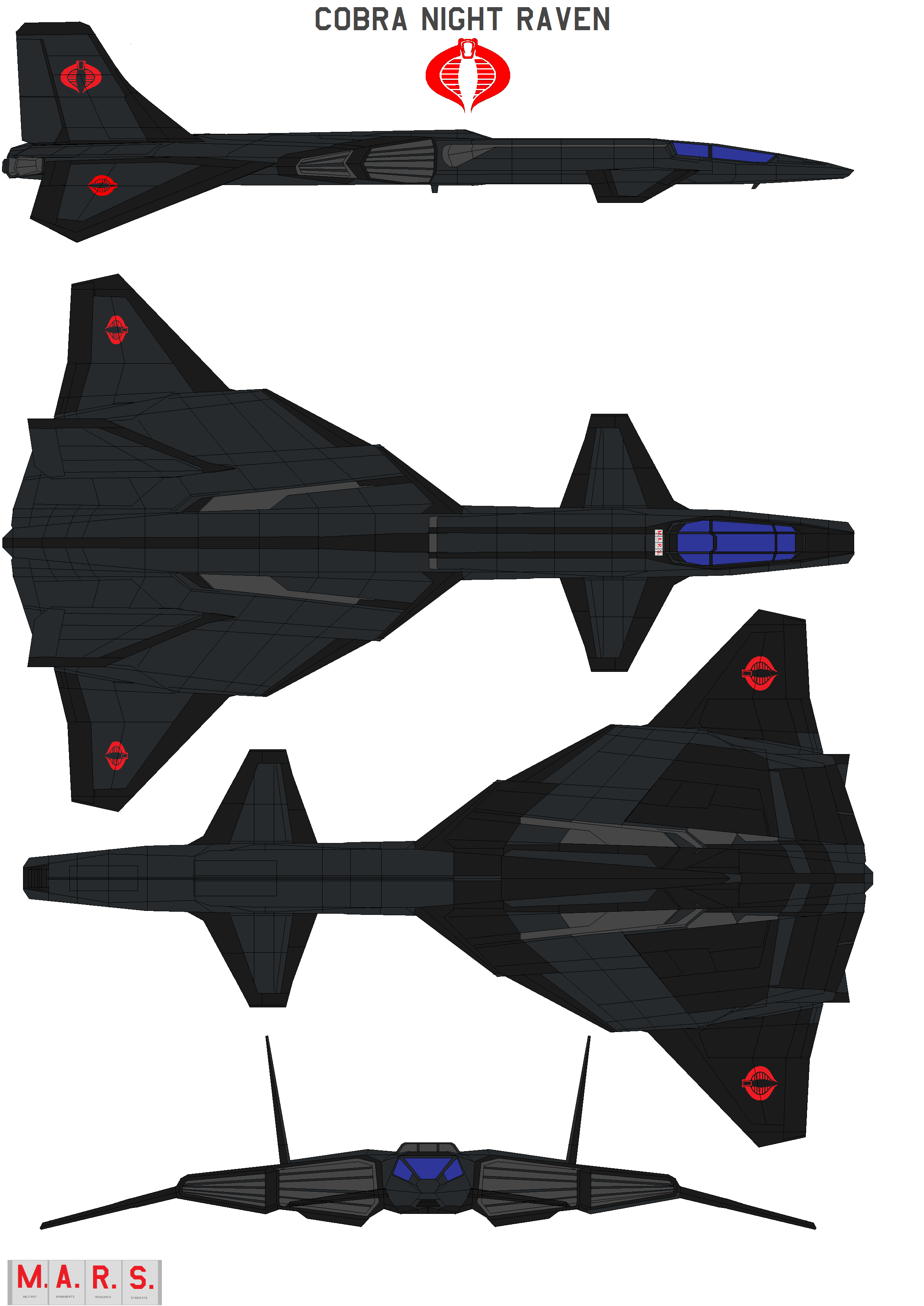 Fastest Plane In The World >> Cobra Night Raven by bagera3005 on DeviantArt