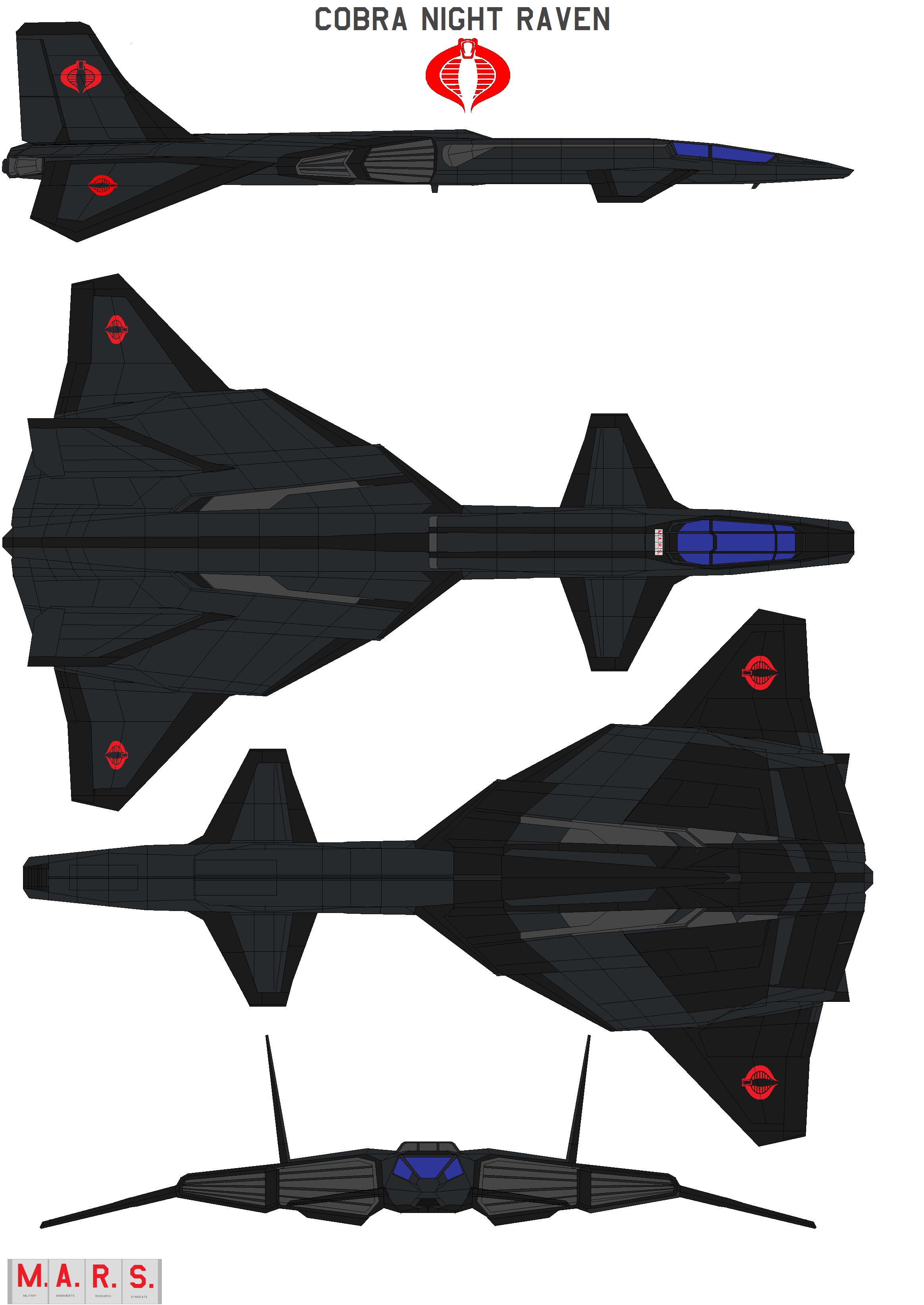 Cobra Night Raven by bagera3005