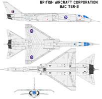 BAC TSR-2 by bagera3005