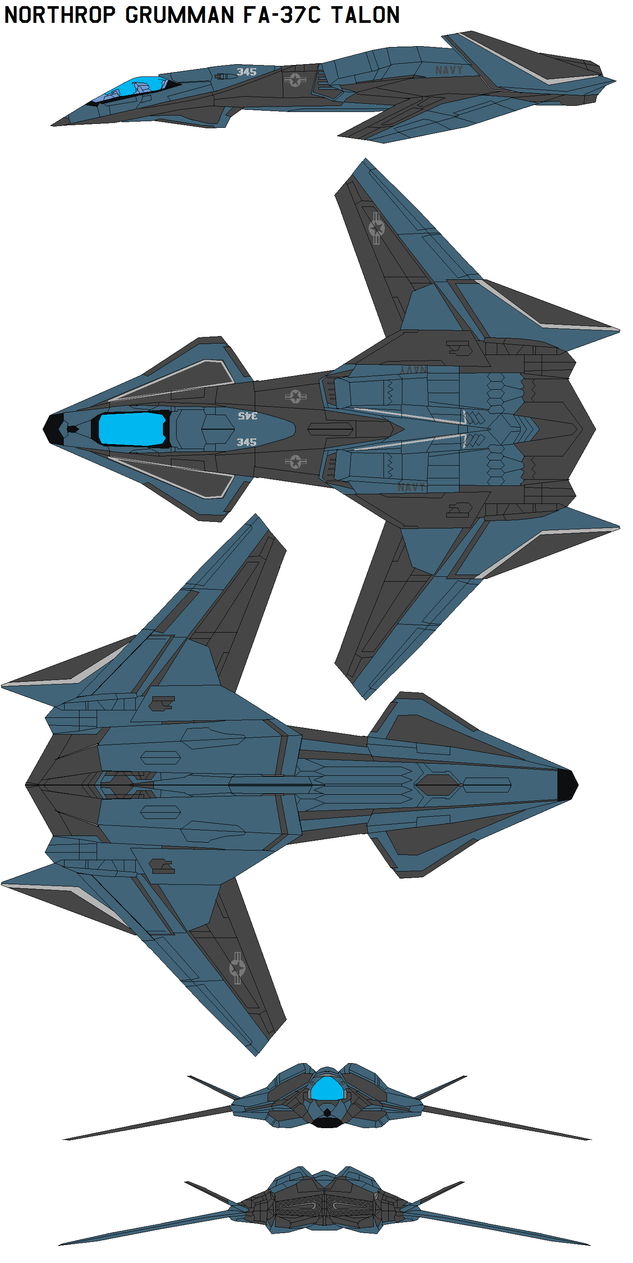 Northrop Grumman FA-37C Talon by bagera3005
