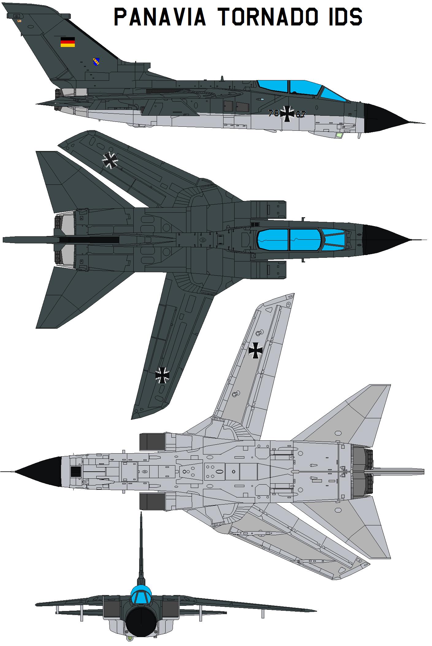 Panavia Tornado IDS by bagera3005