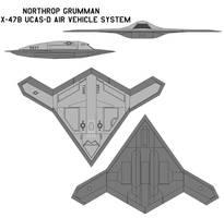 Northrop Grumman X-47B UCAS-D