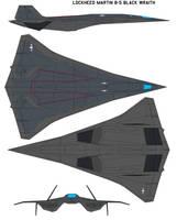 Lockheed  b-5 Black Wraith by bagera3005