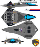 Phantom X-19 Stealth Fighter