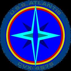atlantis cvx-4575 ships logo