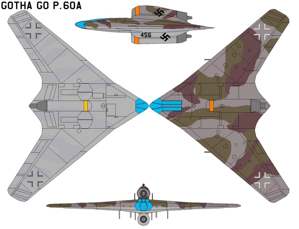 Gotha Go P.60A by bagera3005