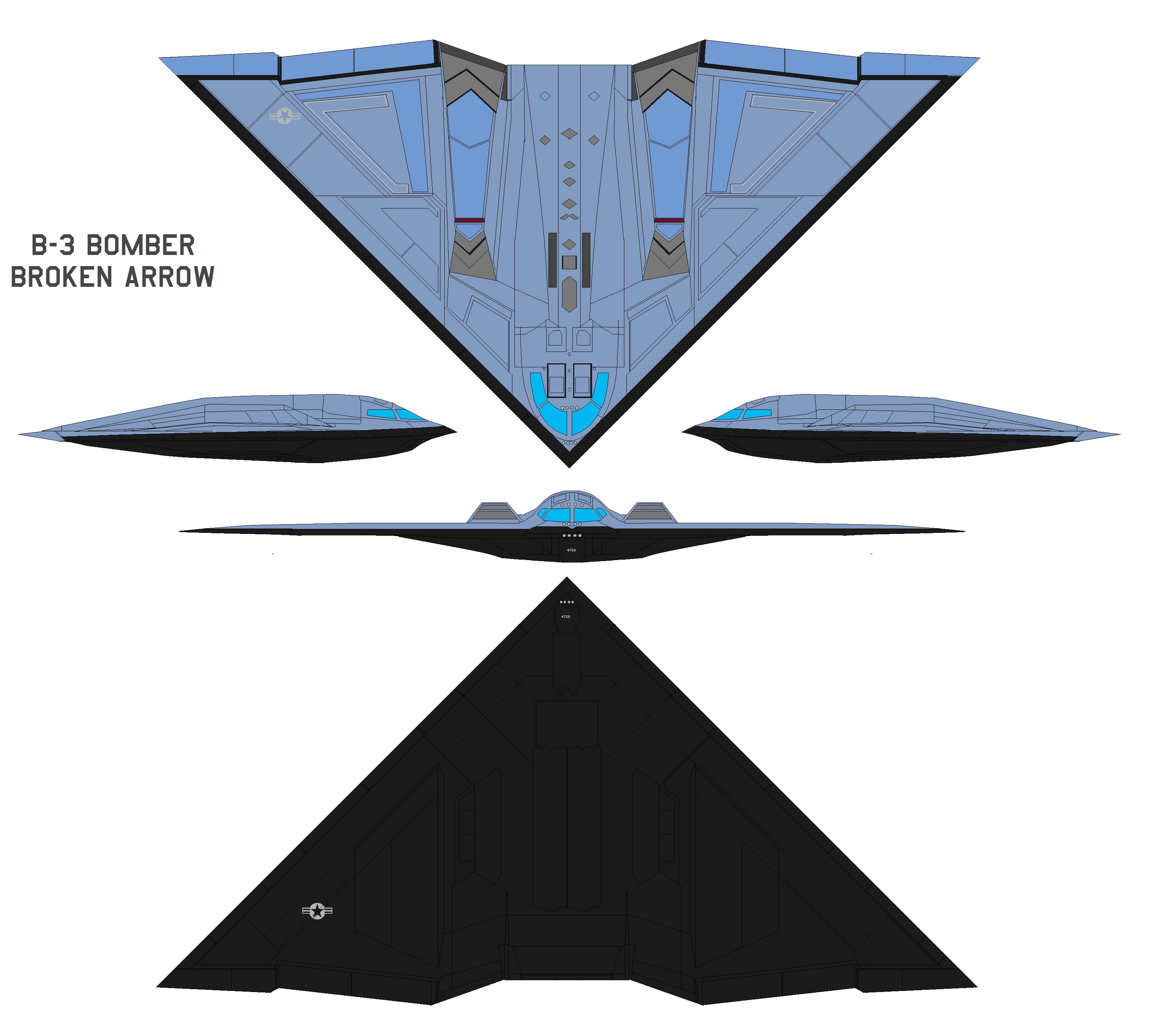 B-3 Bomber from Broken Arrow by bagera3005 on DeviantArt