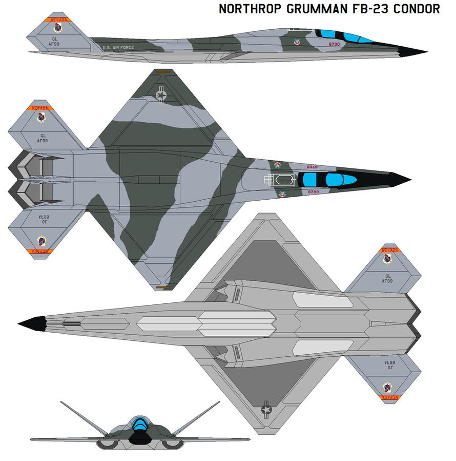 Northrop Grumman FB-23 Condor by bagera3005