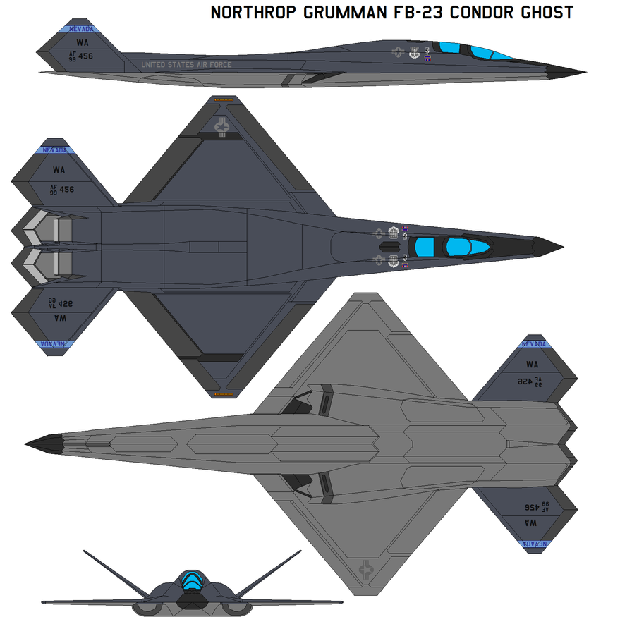 Northrop FB-23 Condor Ghost by *bagera3005 on deviantART