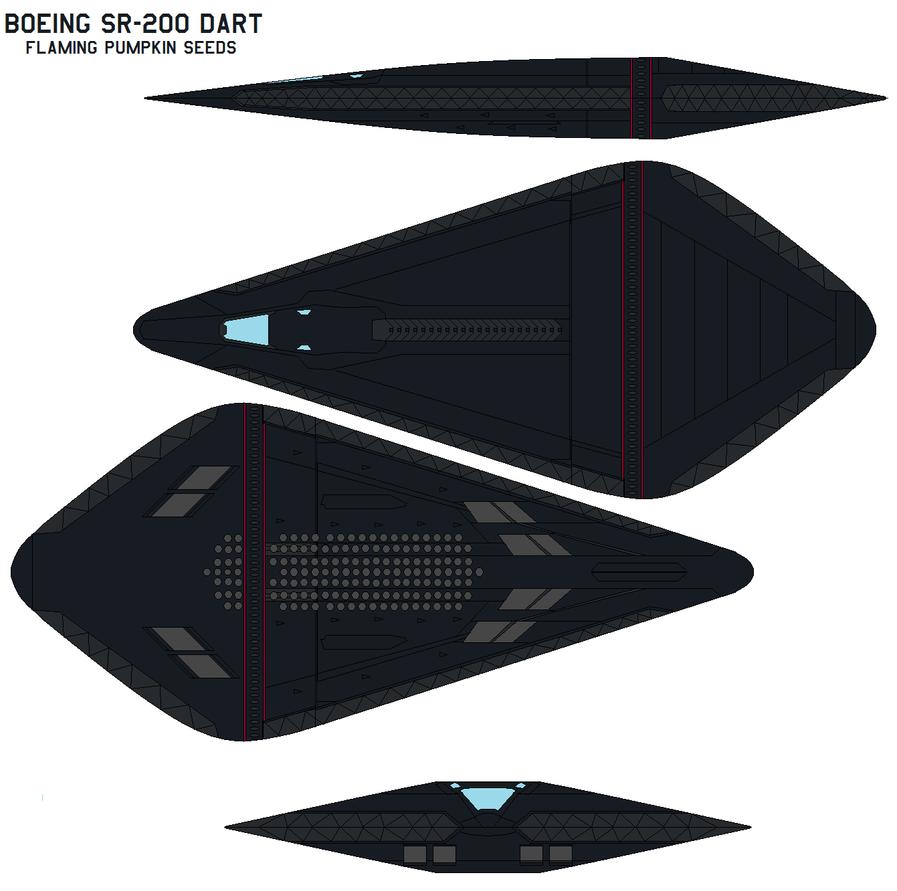 Boeing SR-200 Dart by bagera3005