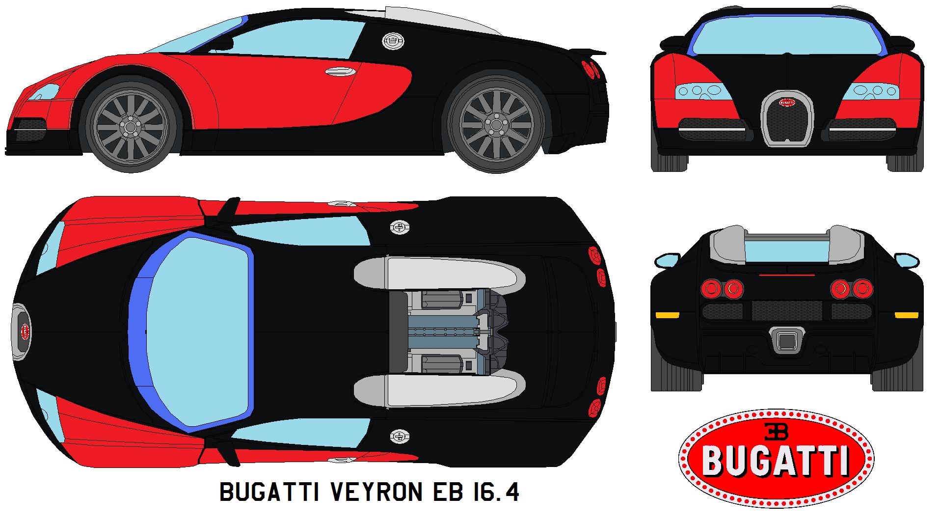 Bugatti Veyron EB 16.4 by bagera3005 on DeviantArt