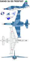 Sukhoi Su-39 Frogfoot by bagera3005