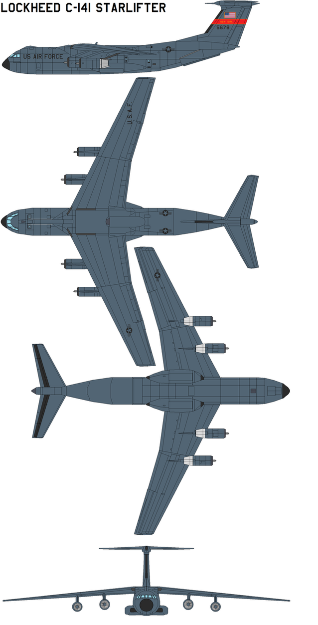 a comparison between the c 141b starlifter cargo jet and the c 17 globemaster iii After replacing the airlifter with the c-17 globemaster iii  from a jet-powered aircraft) the rear cargo doors  starlifter – c-141b is on.
