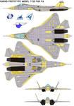 Sukhoi Prototype model T-50