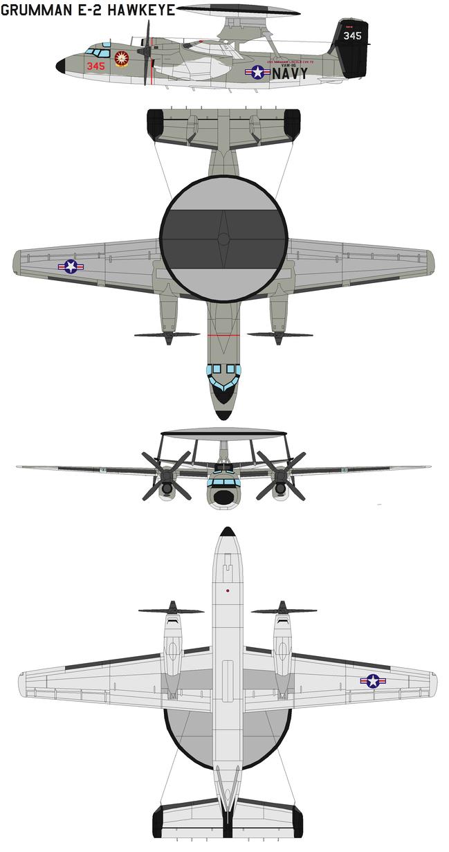 Grumman E 2 Hawkeye By Bagera3005 On Deviantart