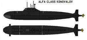 Alfa class Konovalov by bagera3005