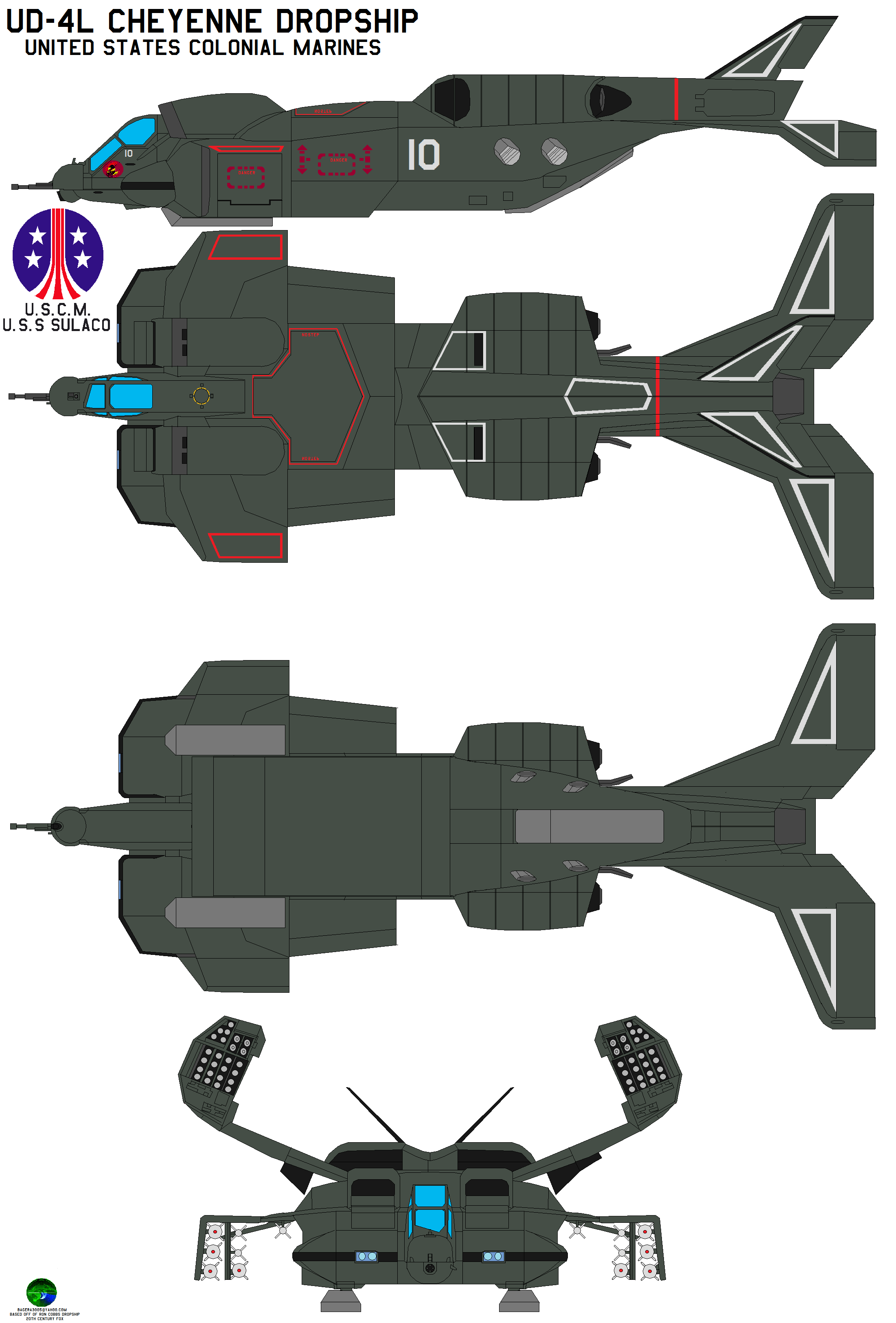 Colonial Marines UD4L Cheyenne by bagera3005