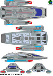 starfleet shuttlecraft type 11 by bagera3005