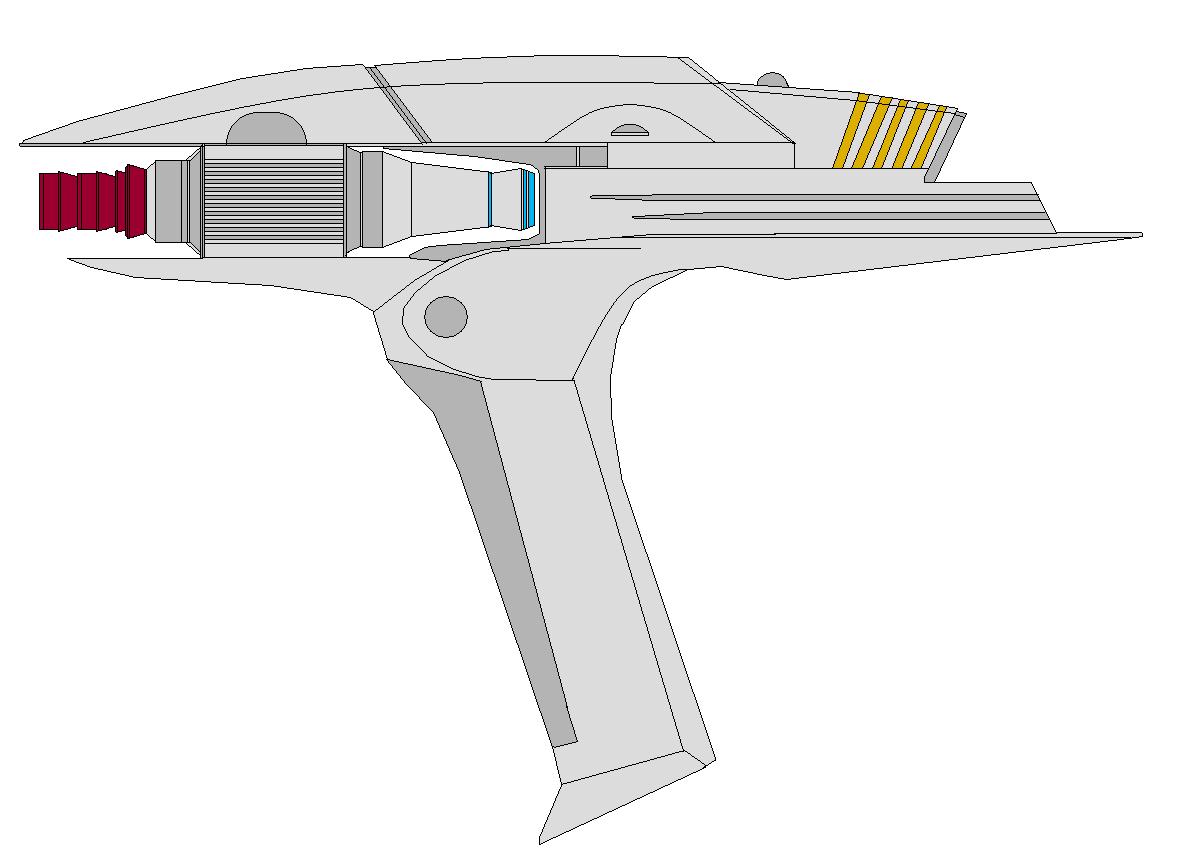 JJ Star Trek  Phaser by bagera3005