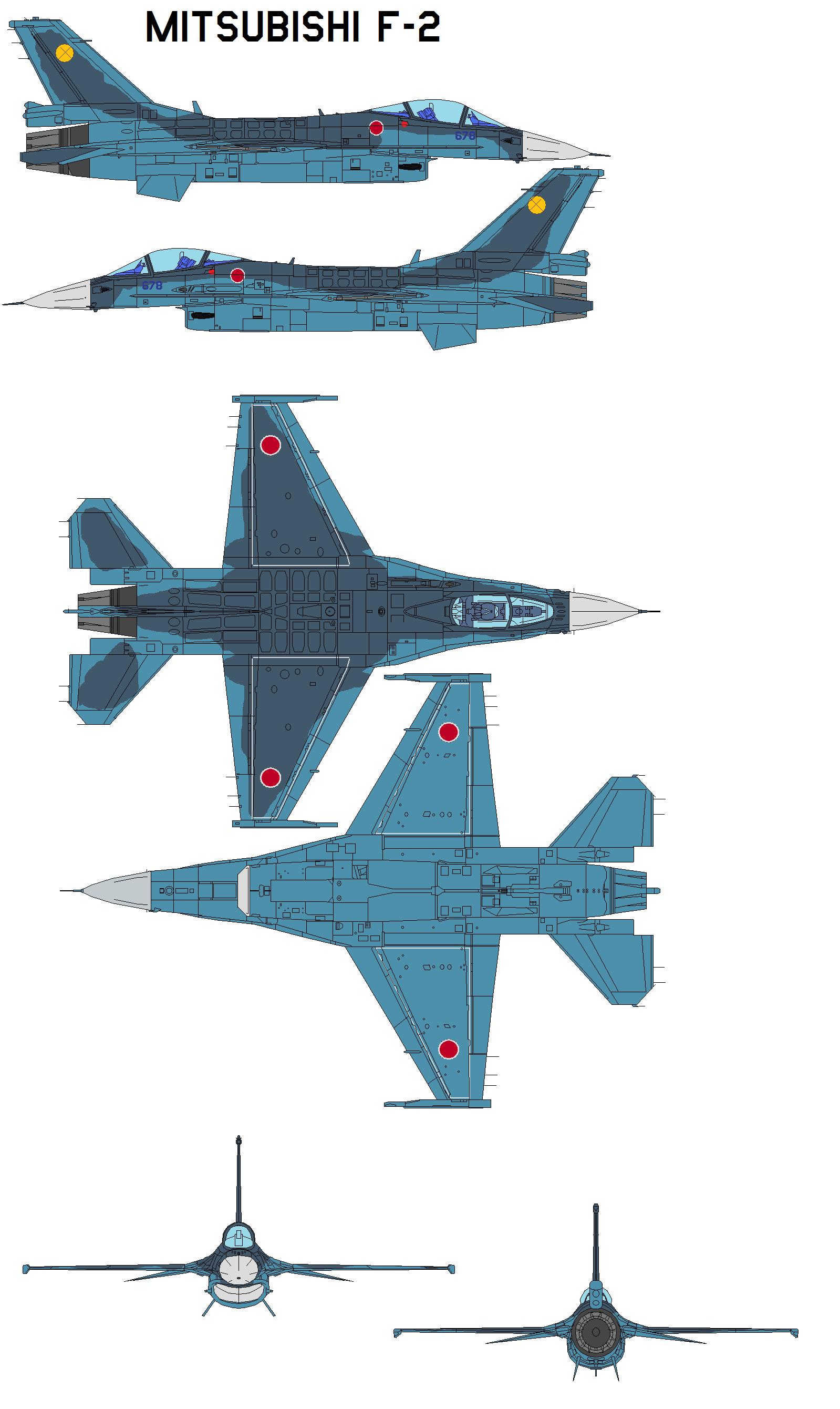 موسوعة المقاتلات الكاملة - صفحة 2 Mitsubishi_F_2_by_bagera3005