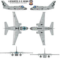 Lockheed S-3 Viking by bagera3005