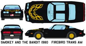 Bandit 1980 Firebird Trans Am by bagera3005