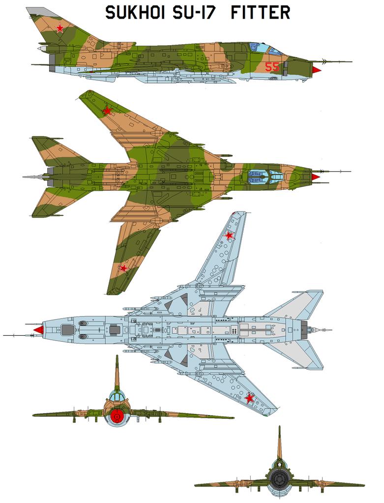 Sukhoi Su-17 Su-20, Su-22 by bagera3005