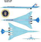 Air Force One Boeing 2707