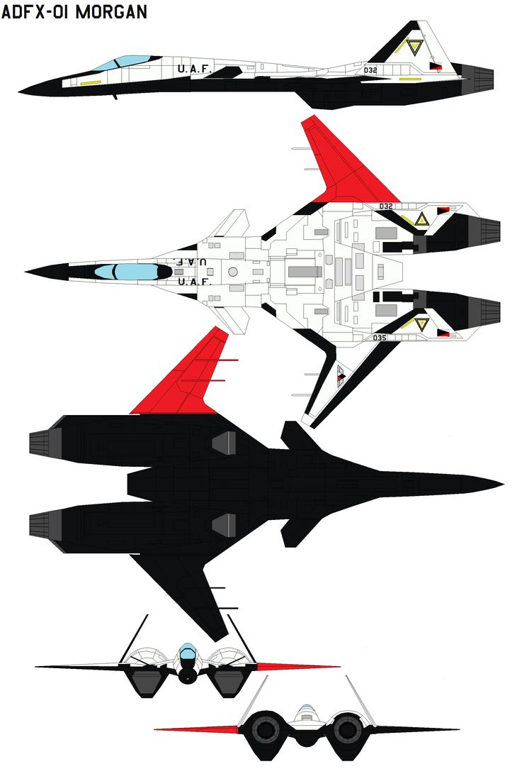 ADFX-01 Morgan by bagera3005