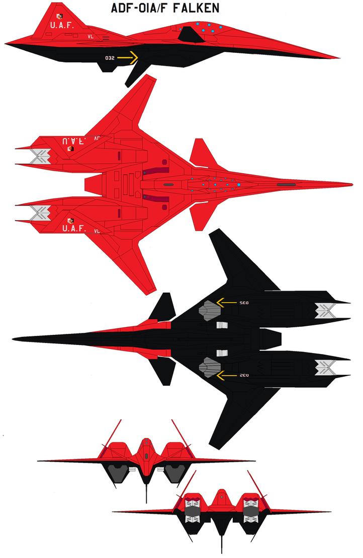 ADF-01AF FALKEN by bagera3005