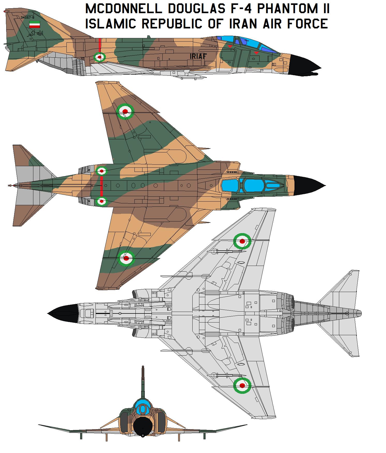 F-4 Phantom IRIAF by bagera3005