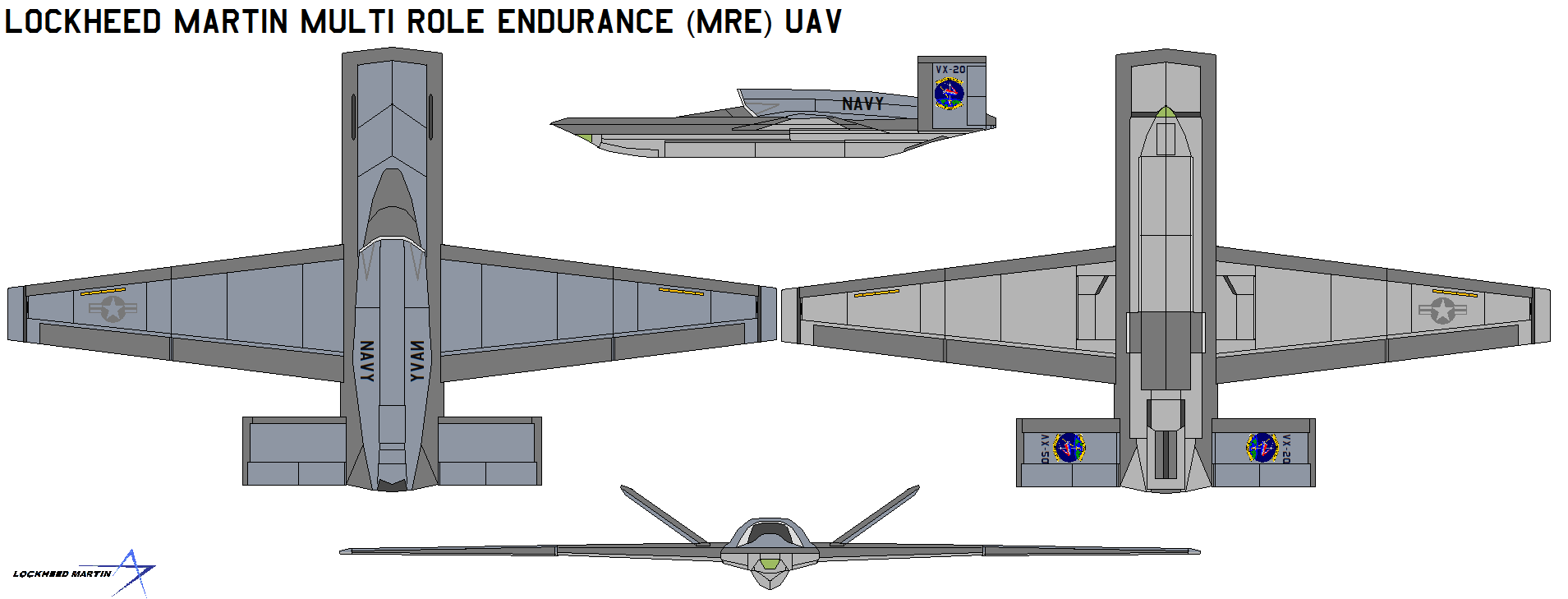 Lockheed Martin MRE UAV by bagera3005