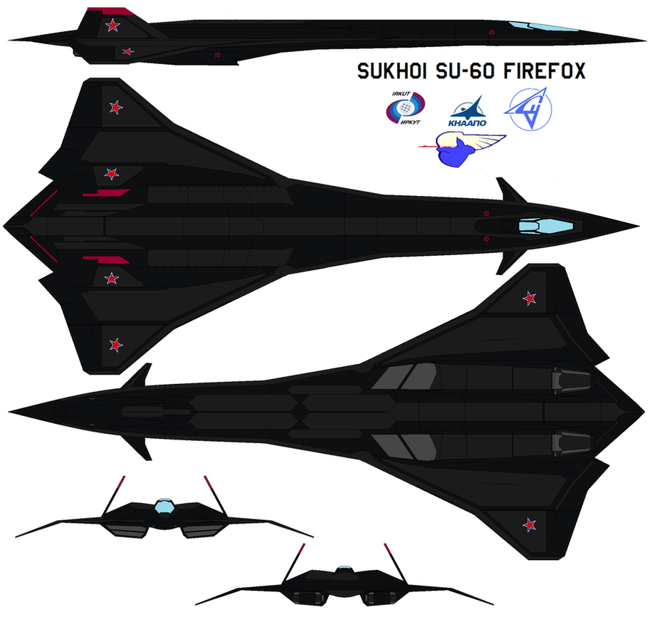 Sukhoi SU-60 firefox REIMAGIND by bagera3005