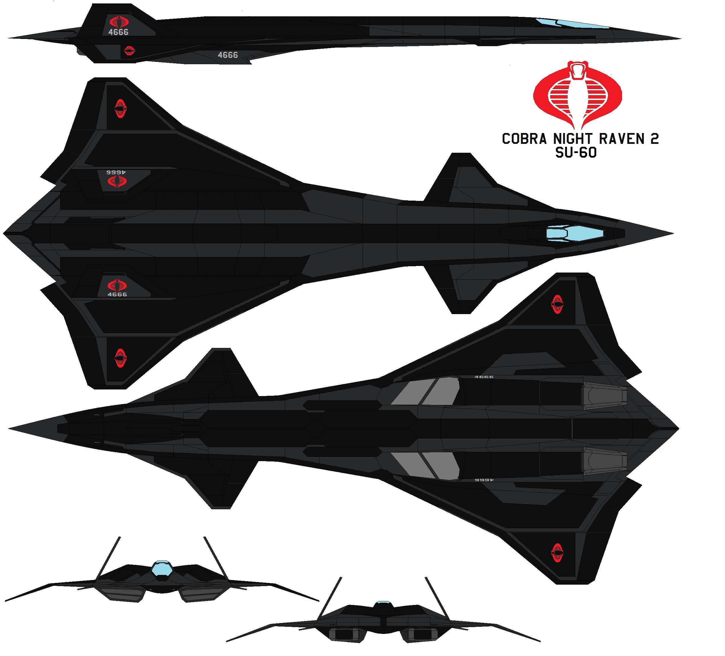 Cobra Night Raven 2 SU-60 By Bagera3005 On DeviantArt